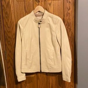 Coach Leather Jacket Petite Small